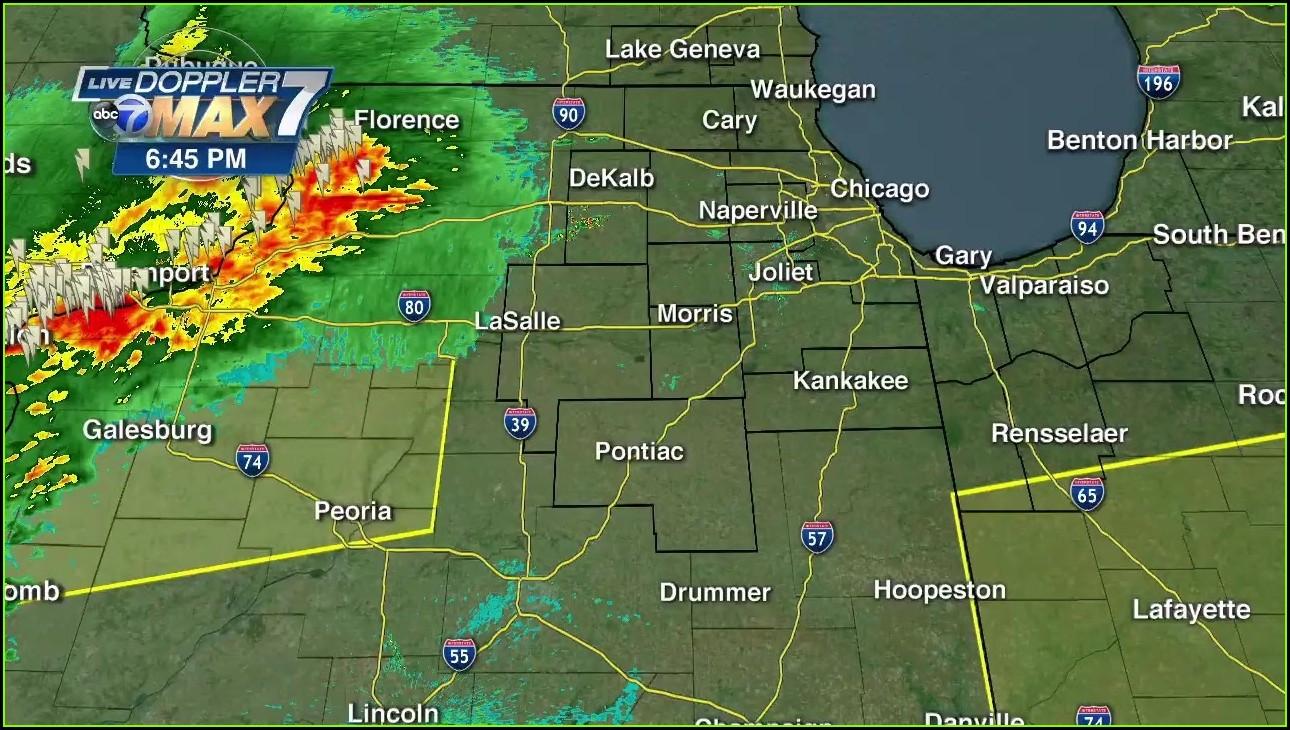 Chicago Weather Map Radar