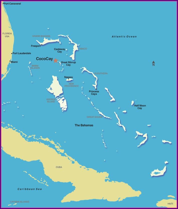Coco Cay Map Location