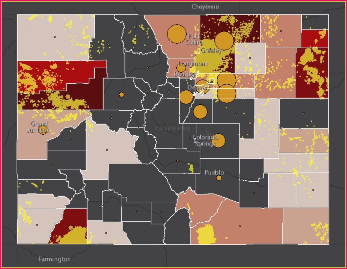 Colorado Air Quality Map