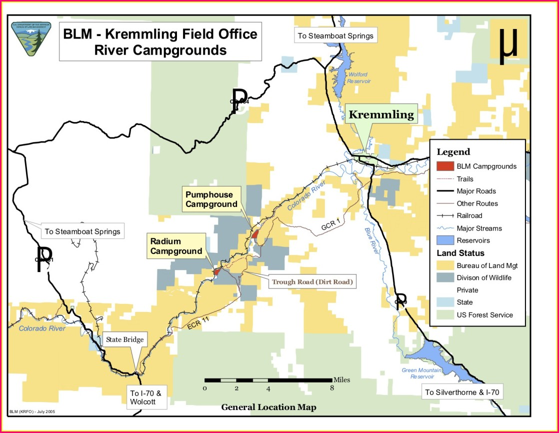 Colorado Blm Field Offices Map