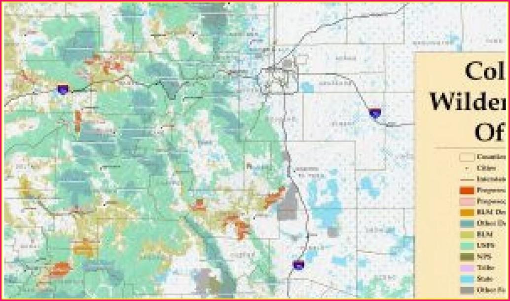 Colorado Blm Maps For Sale