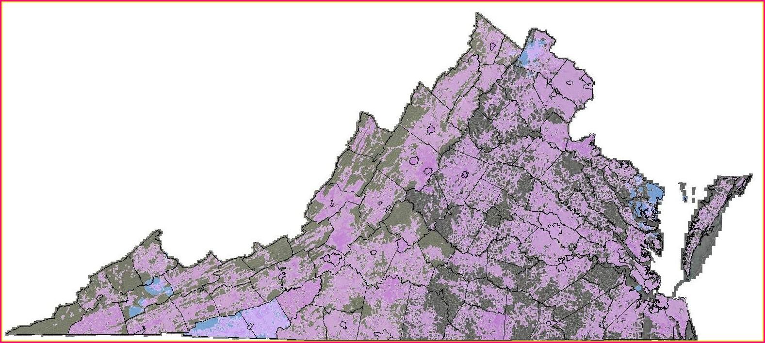 Comcast Availability Map Virginia