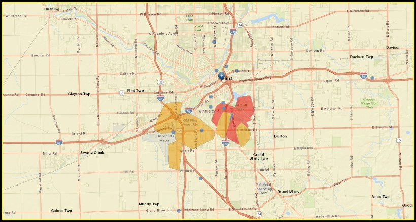 Consumers Energy Outage Map Ionia Mi