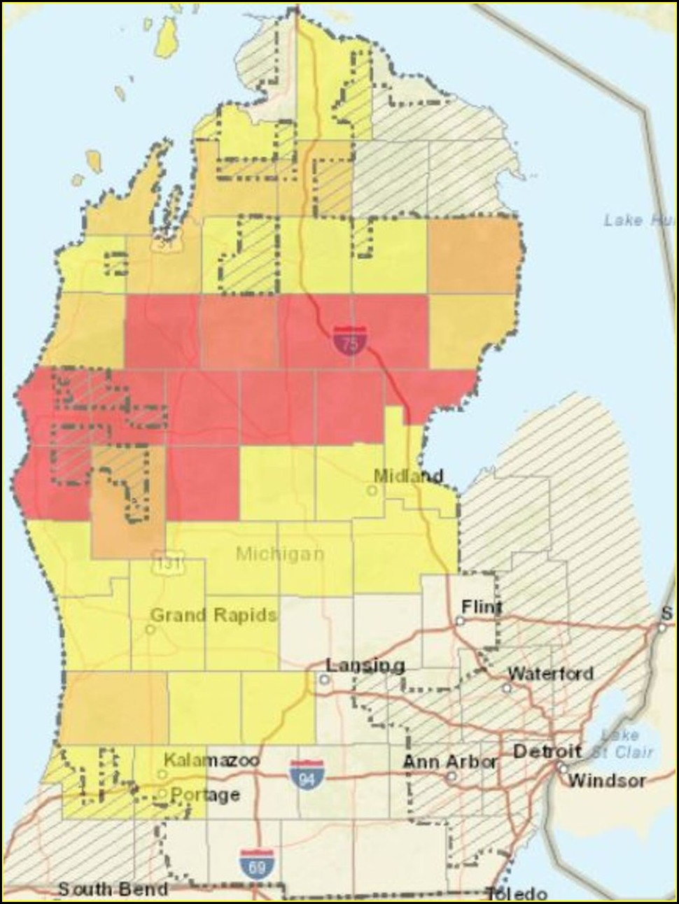 Consumers Energy Outage Map Iowa
