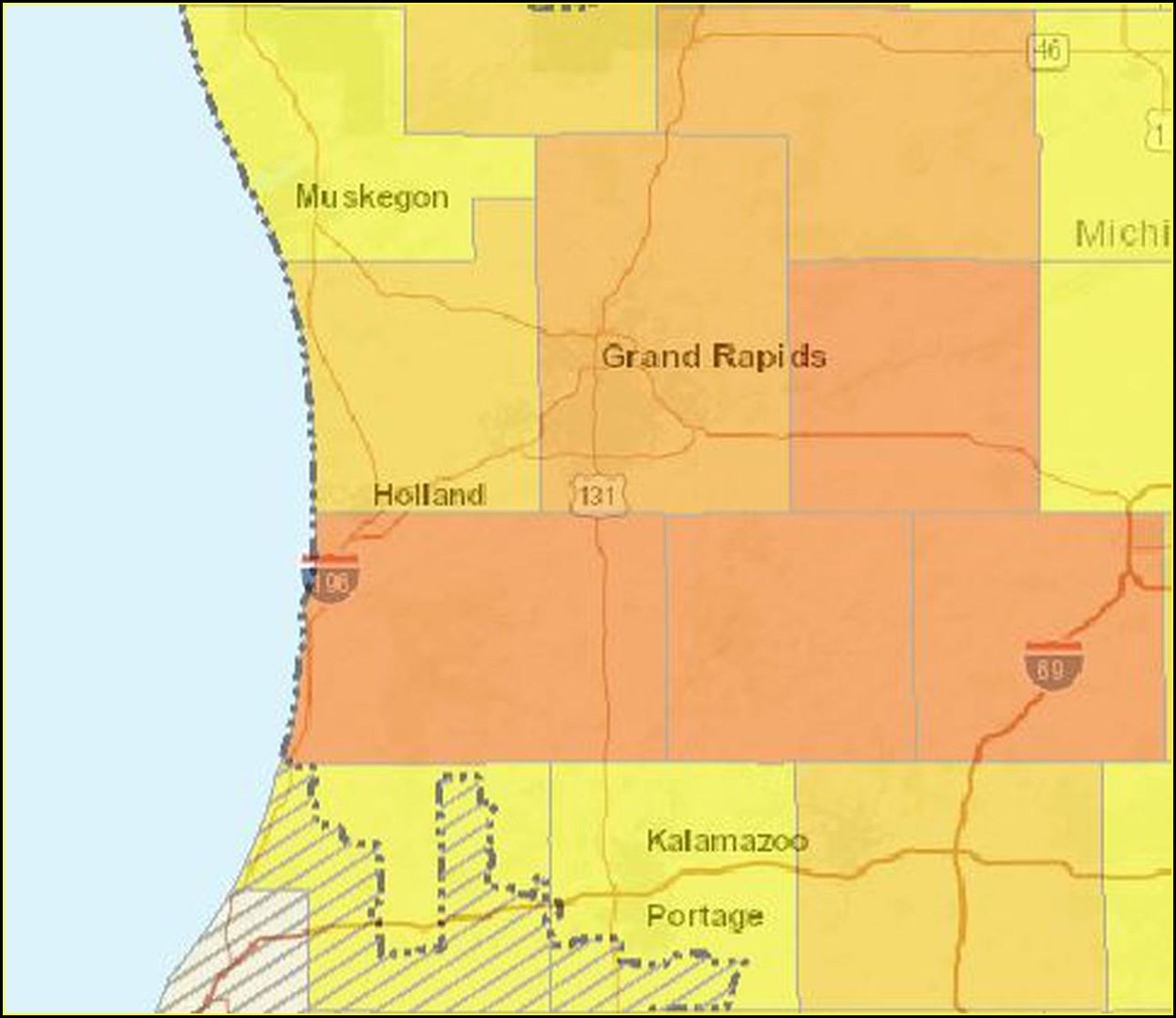 Consumers Energy Outage Map Jenison