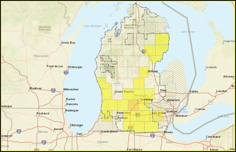 Consumers Energy Outage Map Muskegon Mi