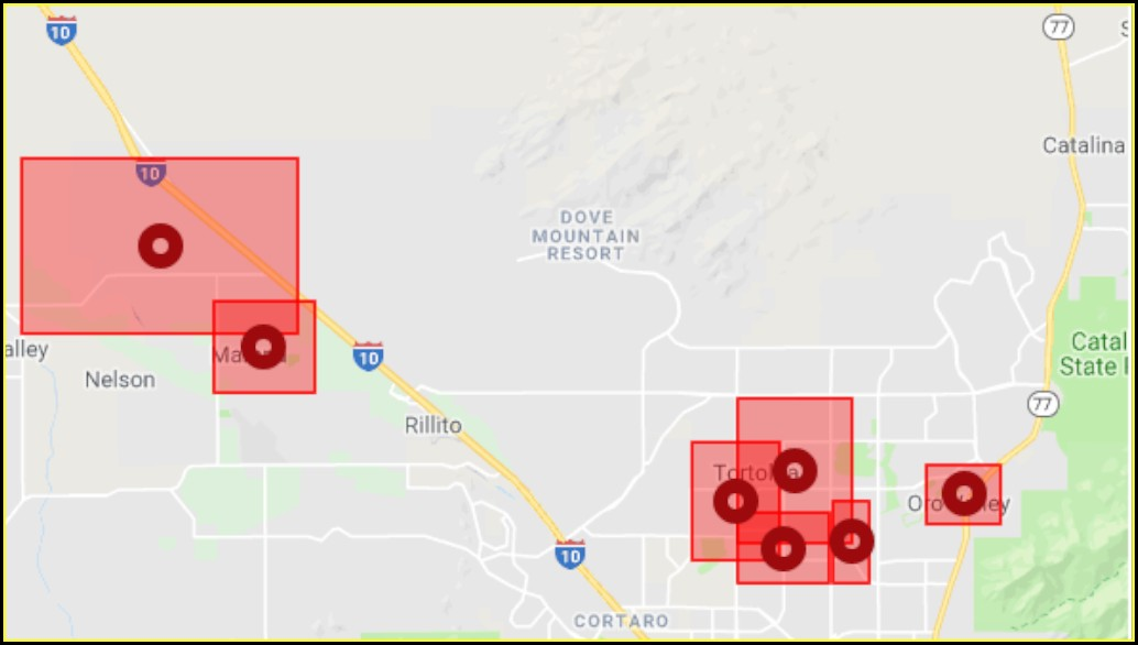 Cox Outage Map Scottsdale