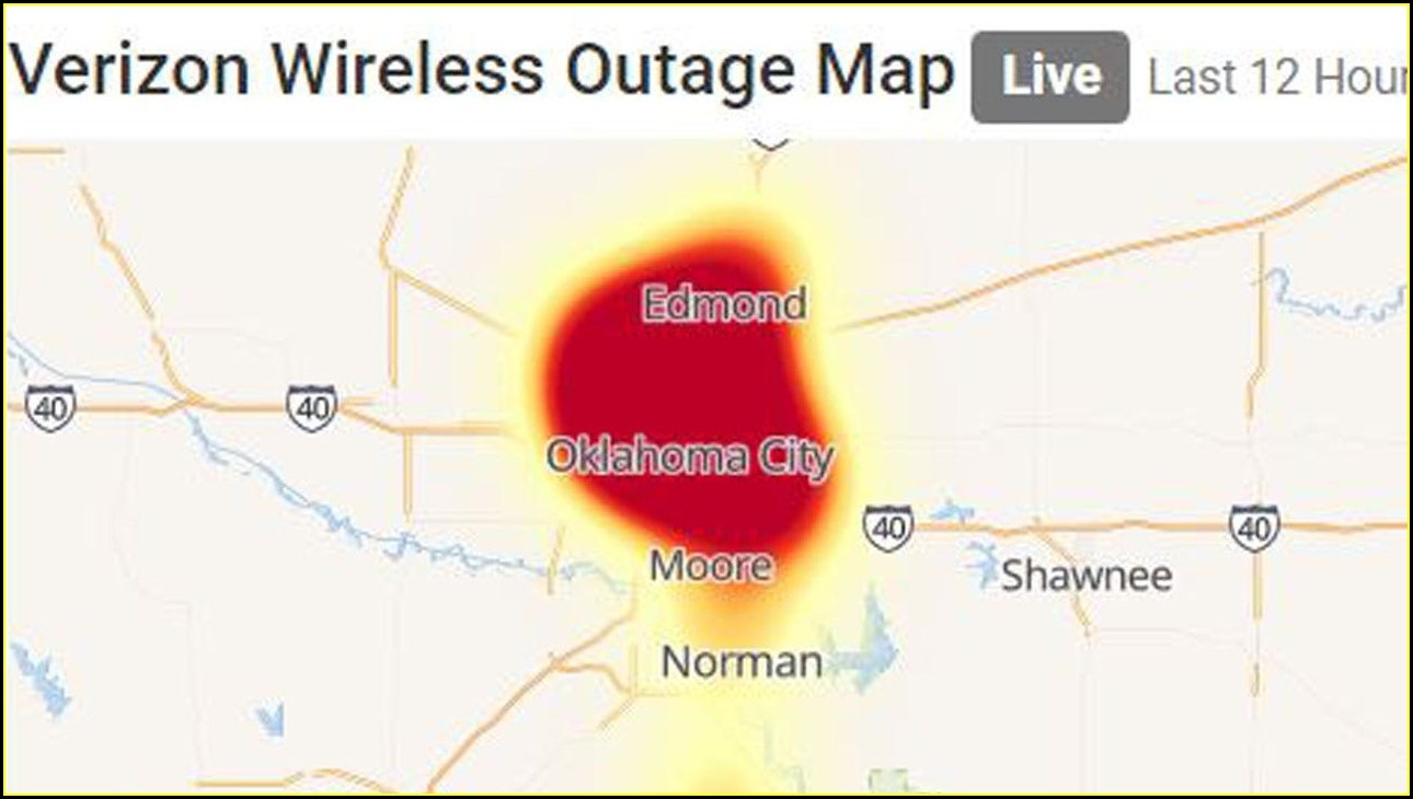 Cox Outage Map Tulsa Ok