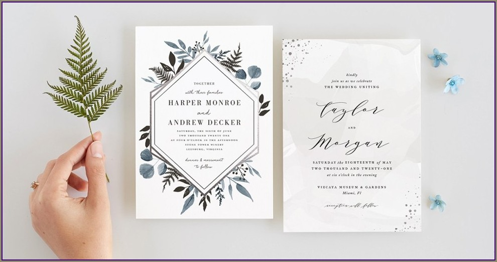 Cricut Wedding Invitation Designs