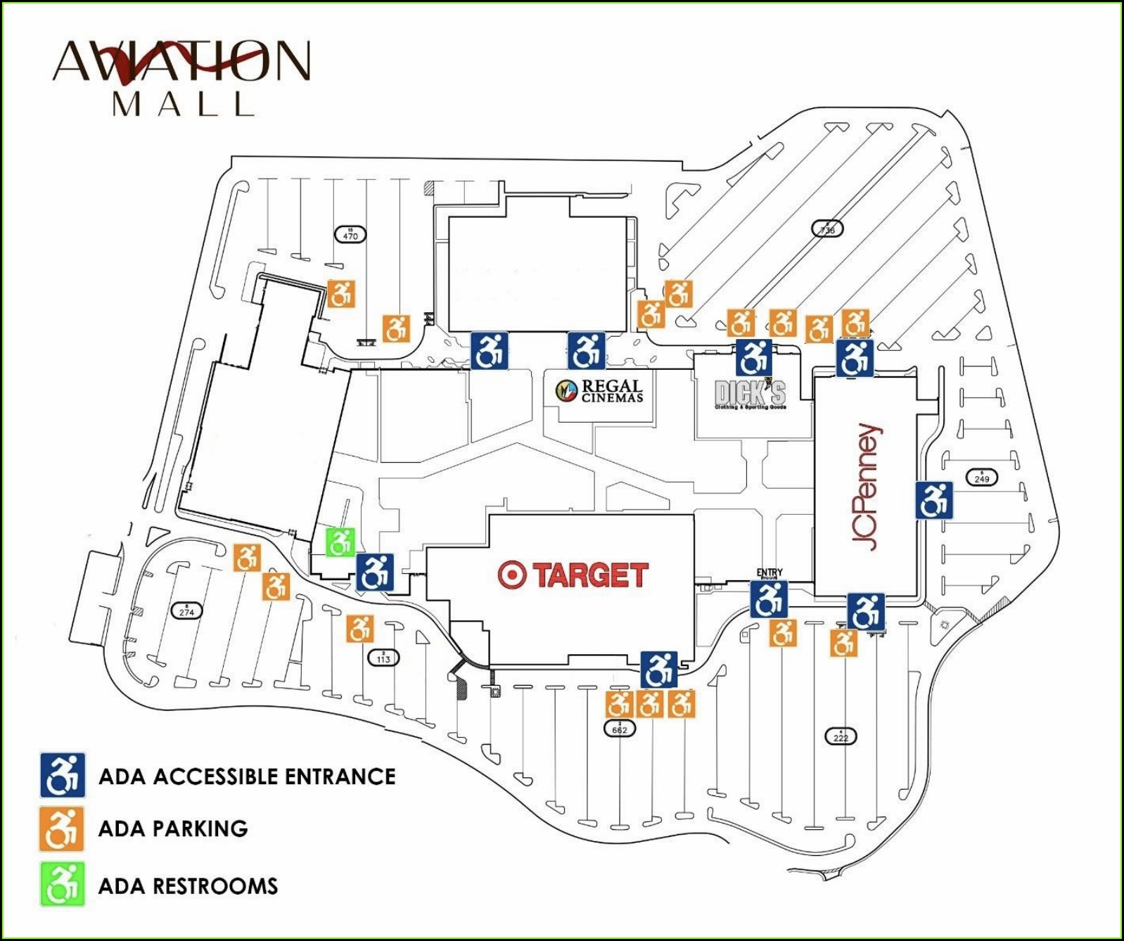 Crossgates Mall Map Pdf