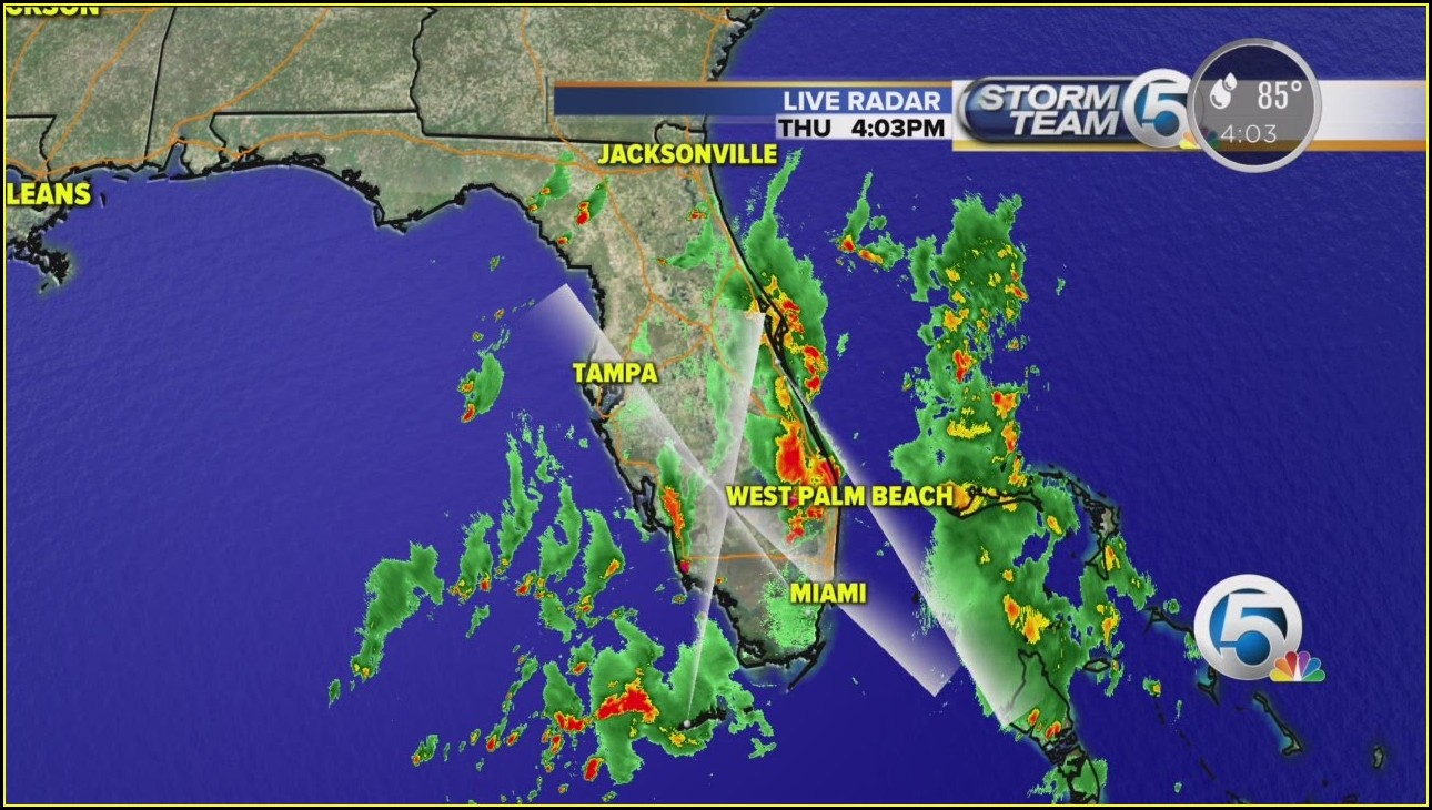 Current Live Weather Radar Florida Weather Map