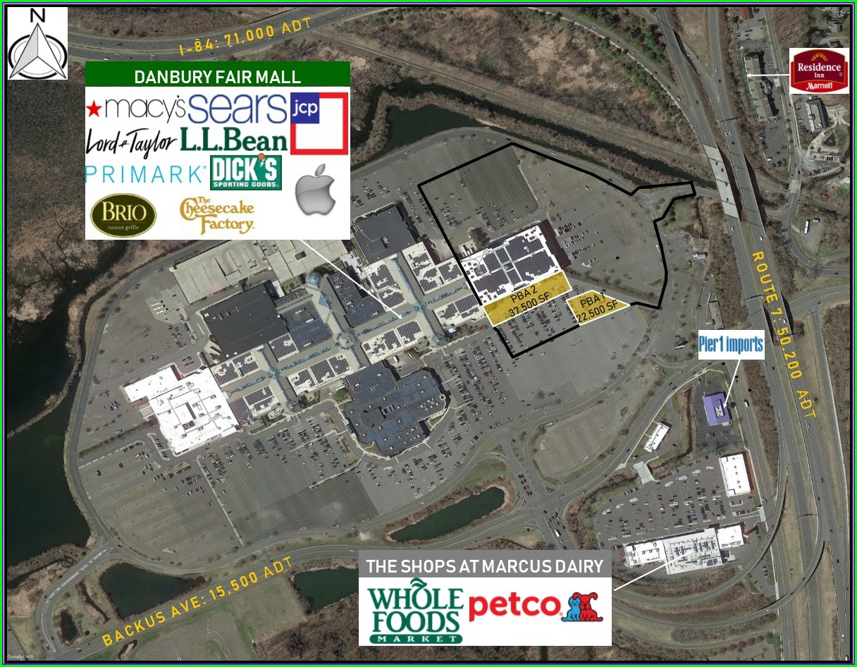 Danbury Fair Mall Map Of Stores