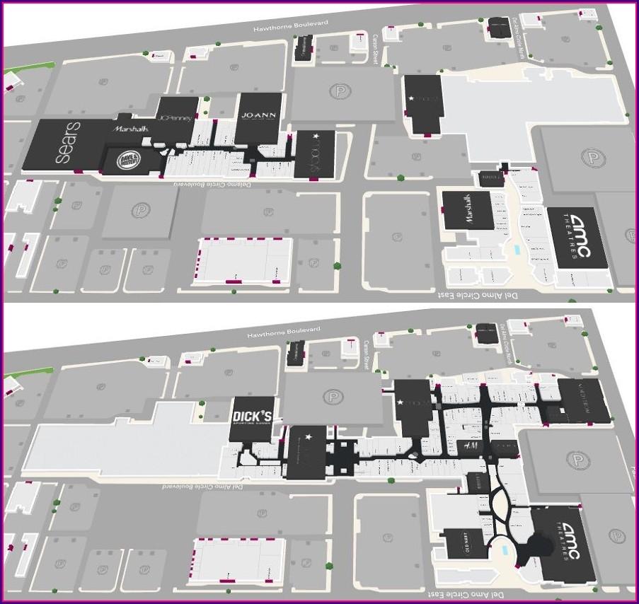 Del Amo Mall Map Sephora