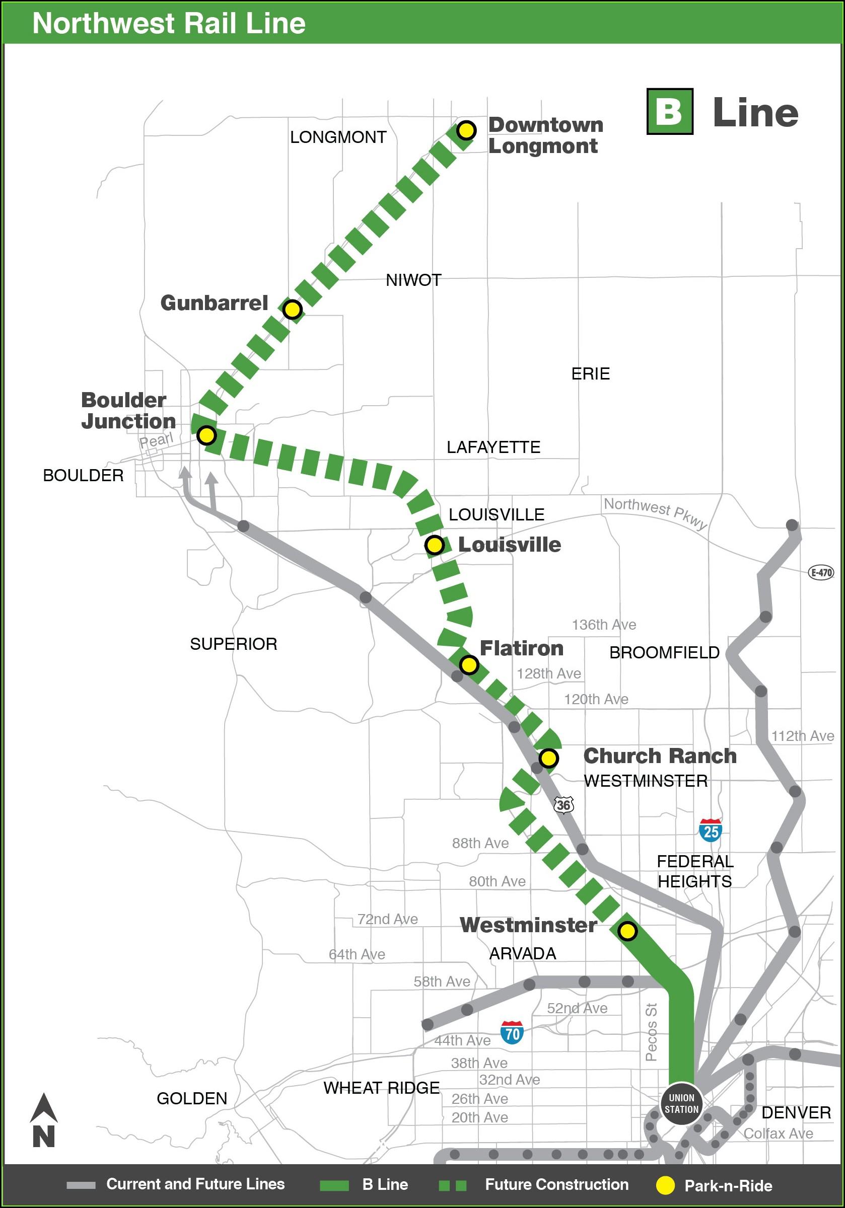 Denver Rtd Map My Ride