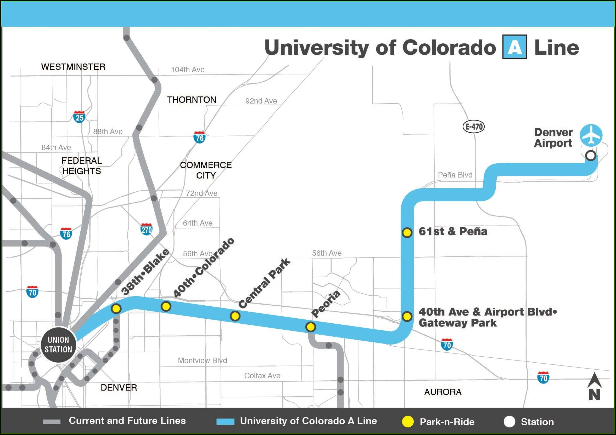 Denver Rtd Map Pdf