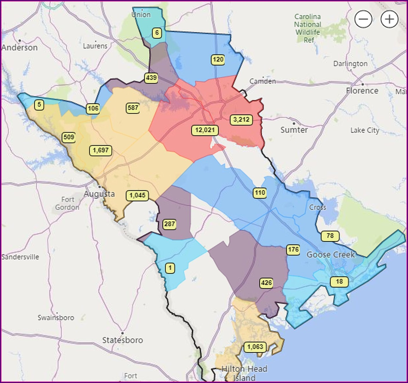 Dominion Energy Outage Map South Carolina