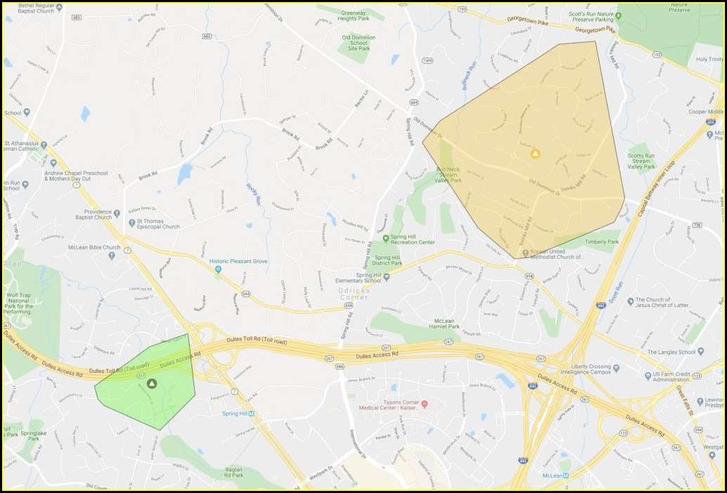 Dominion Power Outage Map Arlington Va