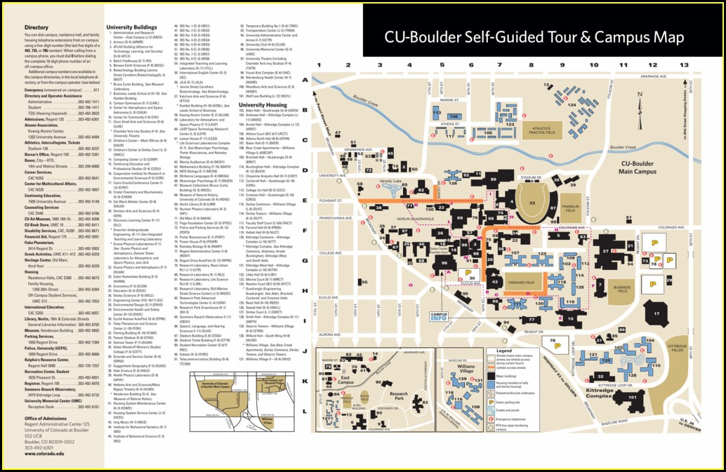 Dorm Cu Boulder Housing Map