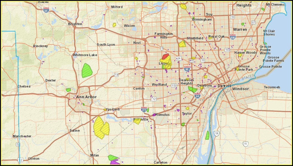 Dte Energy Outage Map Michigan