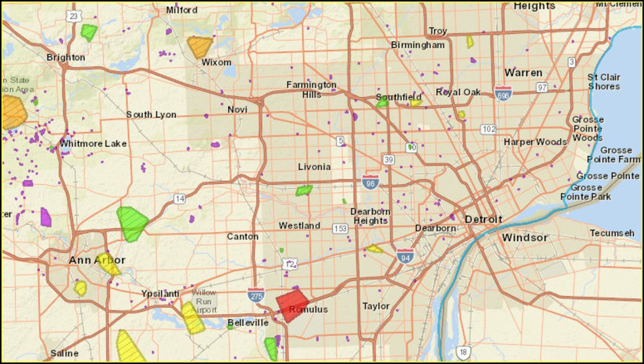 Dte Energy Outage Map
