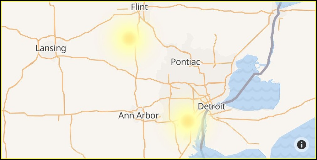 Dte Outage Map Report
