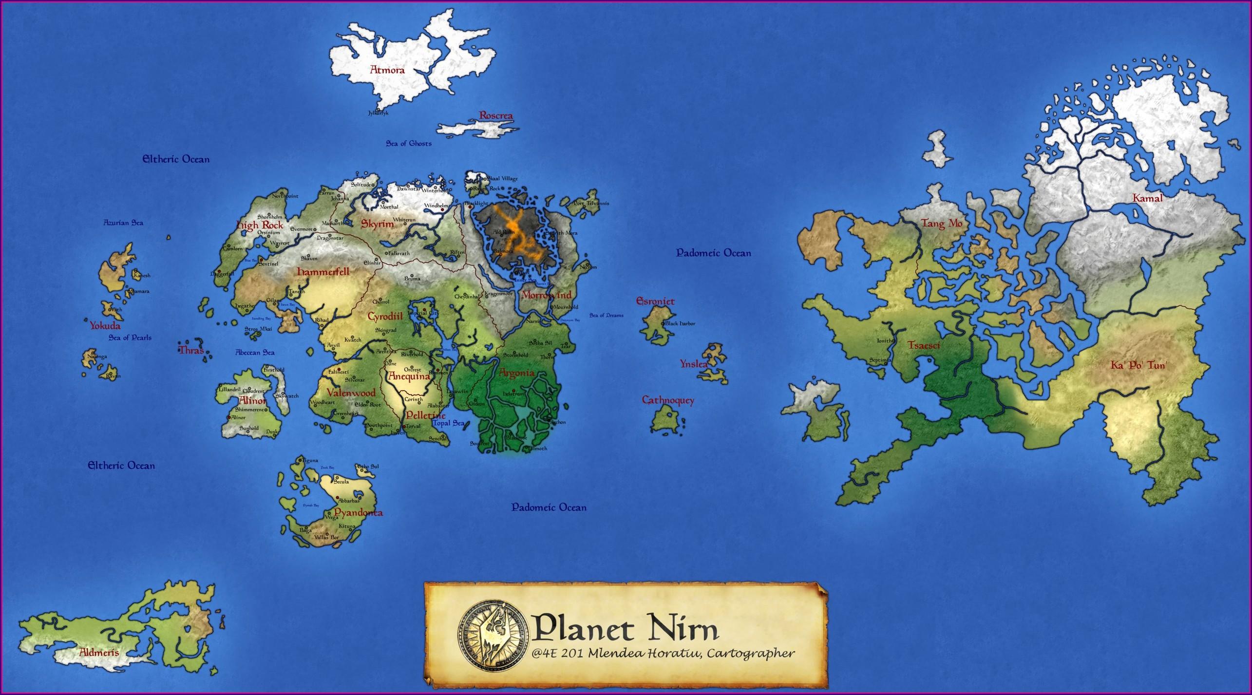 Elder Scrolls Online Map Size Vs Wow