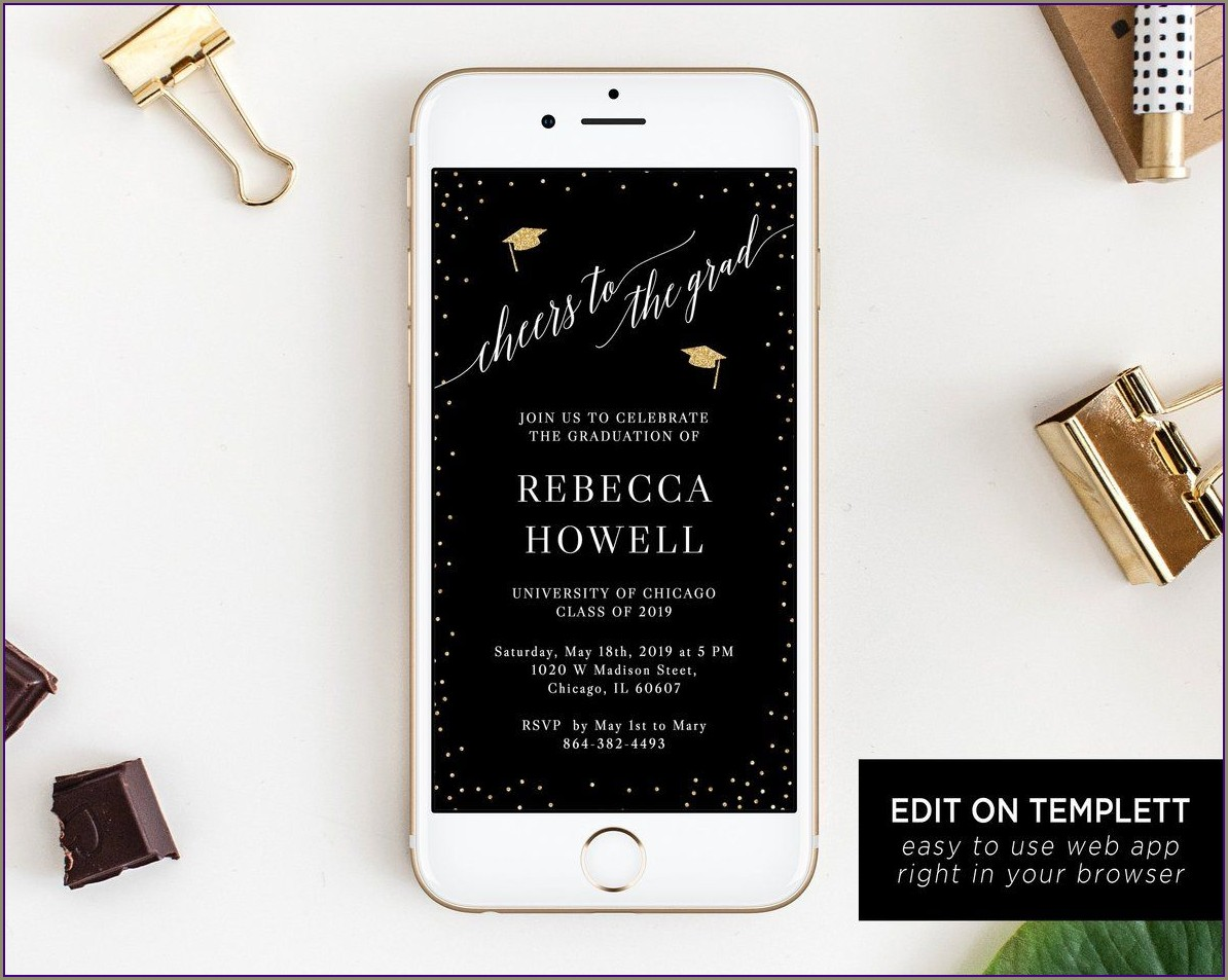 Electronic Invitations With Rsvp Free
