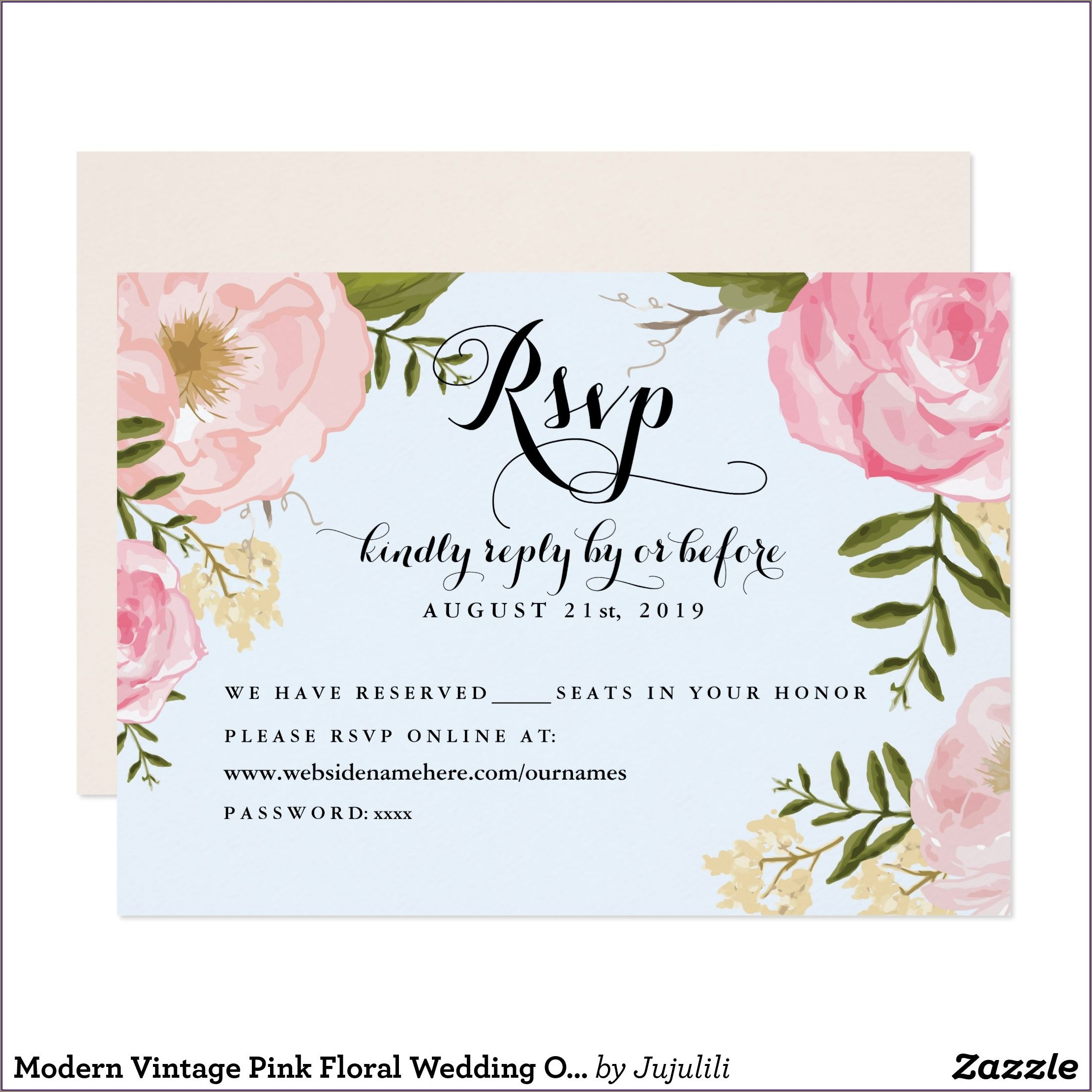 Electronic Wedding Invitations With Rsvp