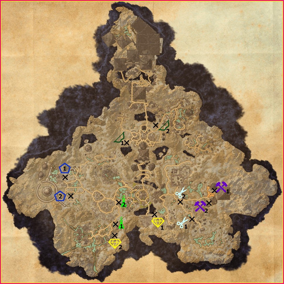 Eso Survey Maps Coldharbour