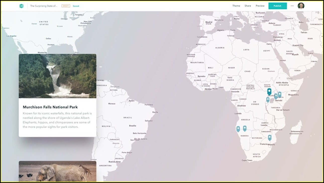 Esri Story Maps Beta