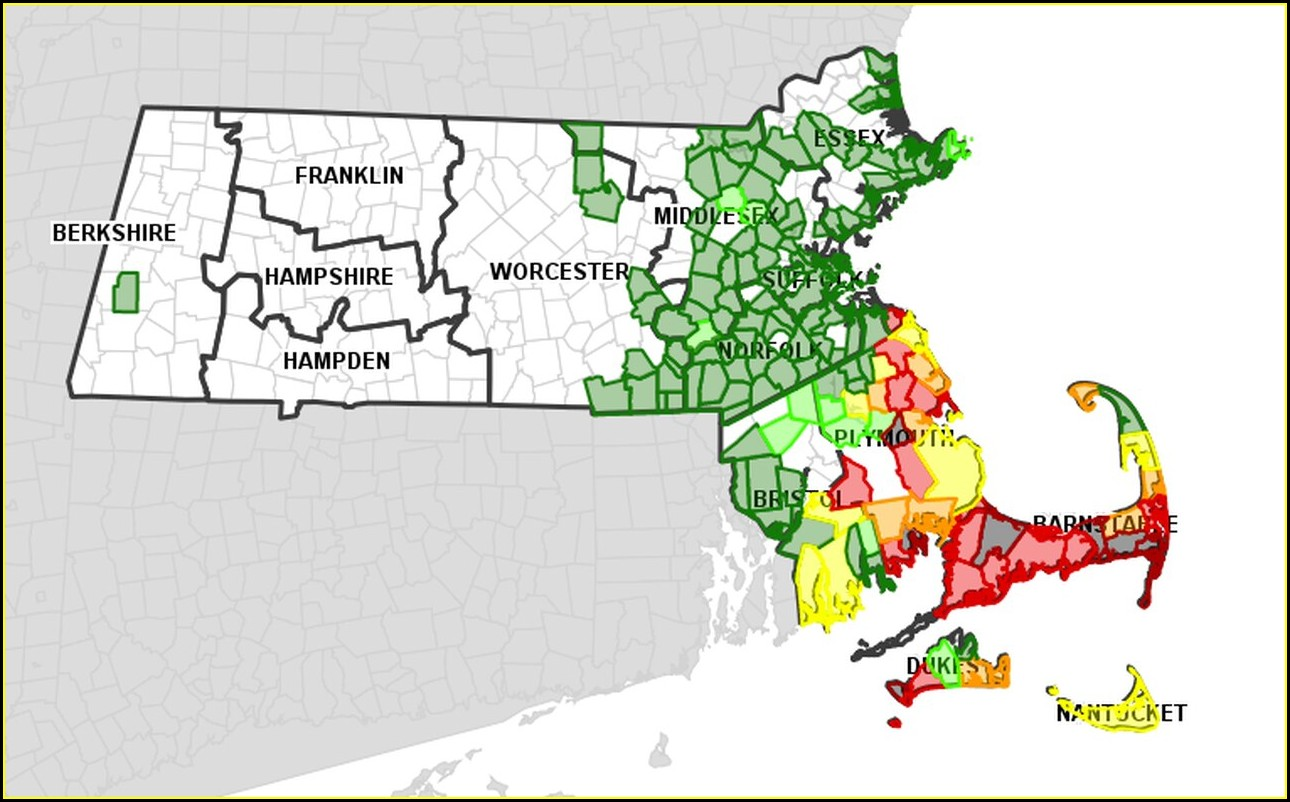 Eversource Outage Map Dennis Ma