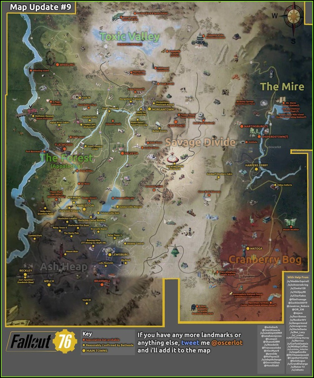 Fallout 76 Interactive Map Project