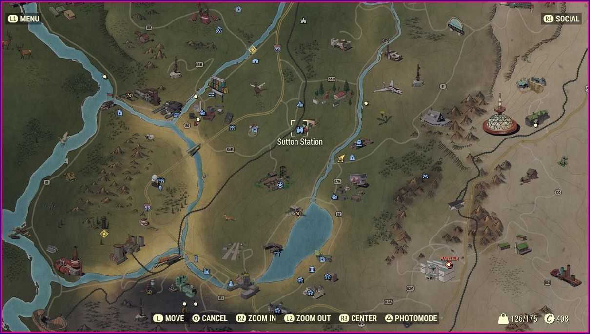 Fallout 76 Legendary Vendor Location Map