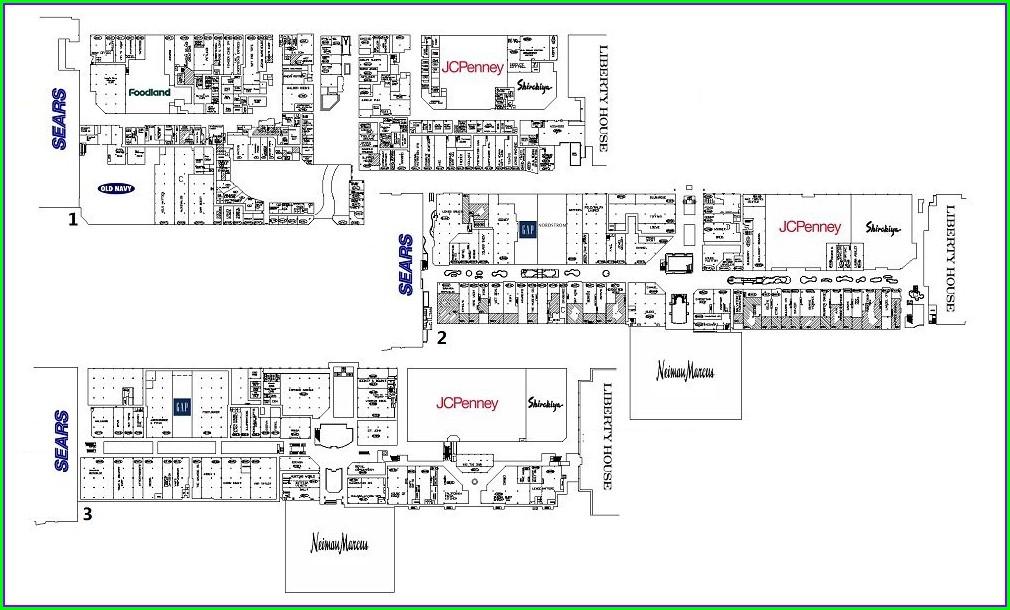 Floor Plan Ala Moana Shopping Center Map