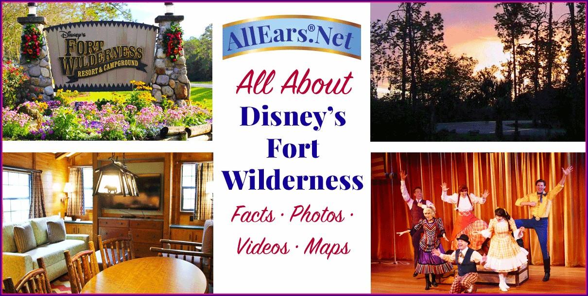 Fort Wilderness Campground Map 2020