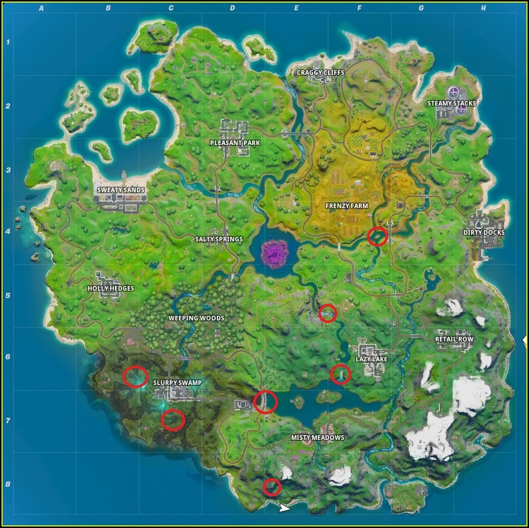 Fortnite New Map 1020