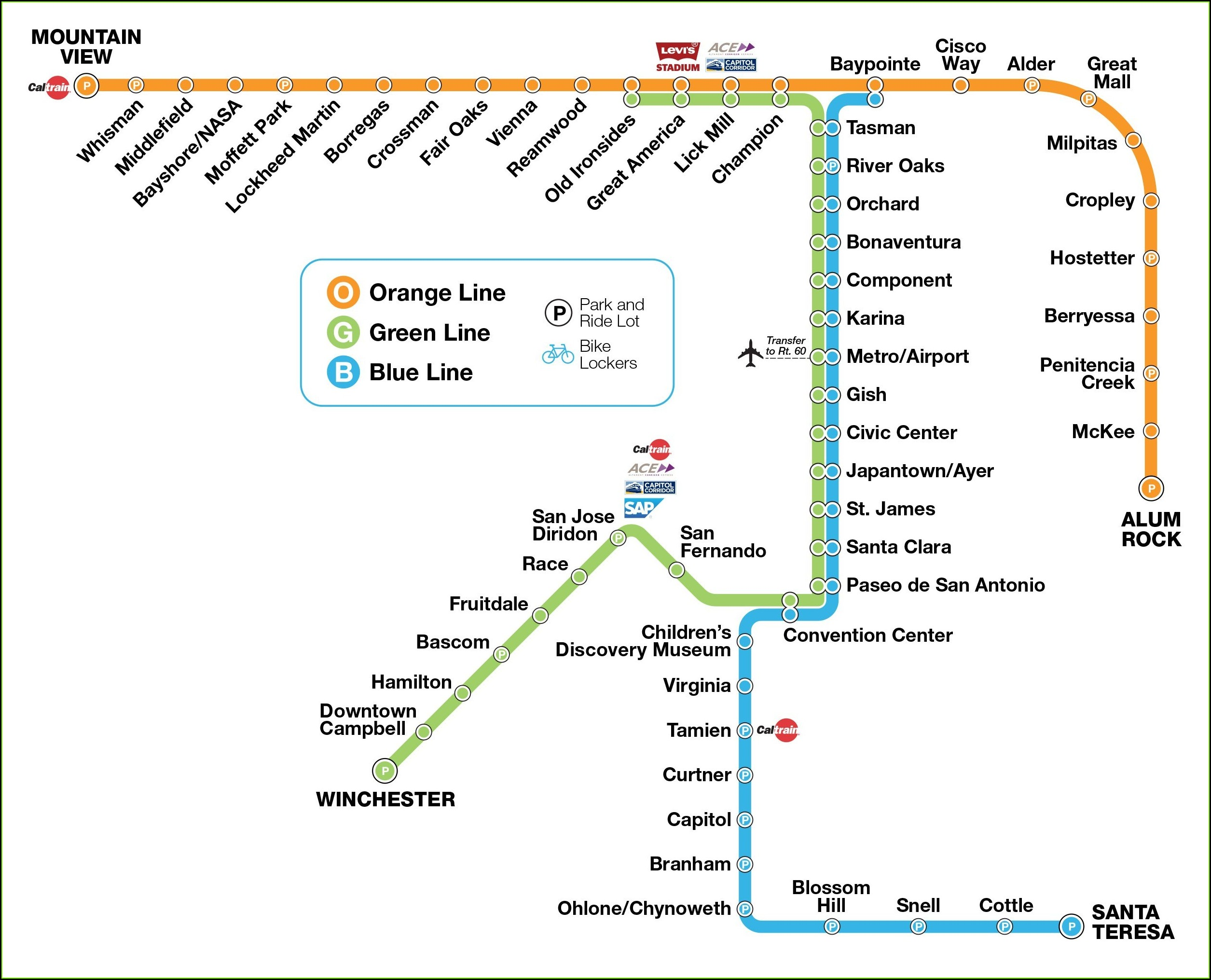 Future Vta Light Rail Map