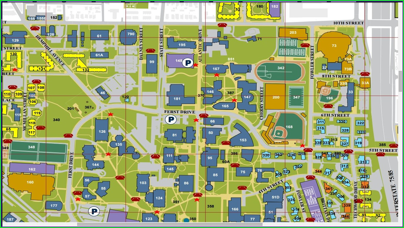 Gatech Parking Map Pdf