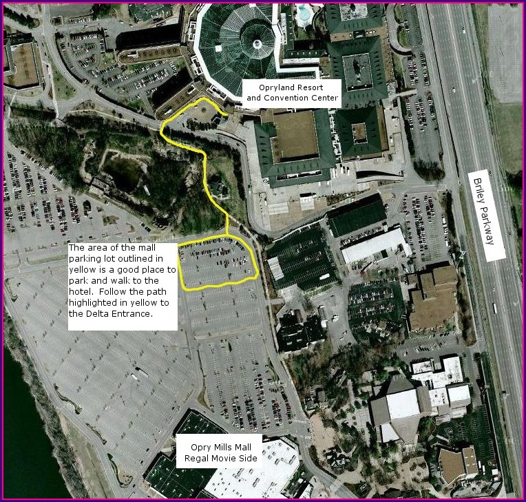 Gaylord Opryland Hotel Map Pdf