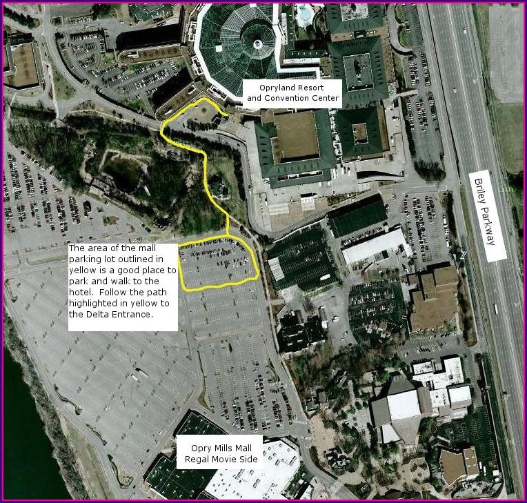 Gaylord Opryland Hotel Map Pdf