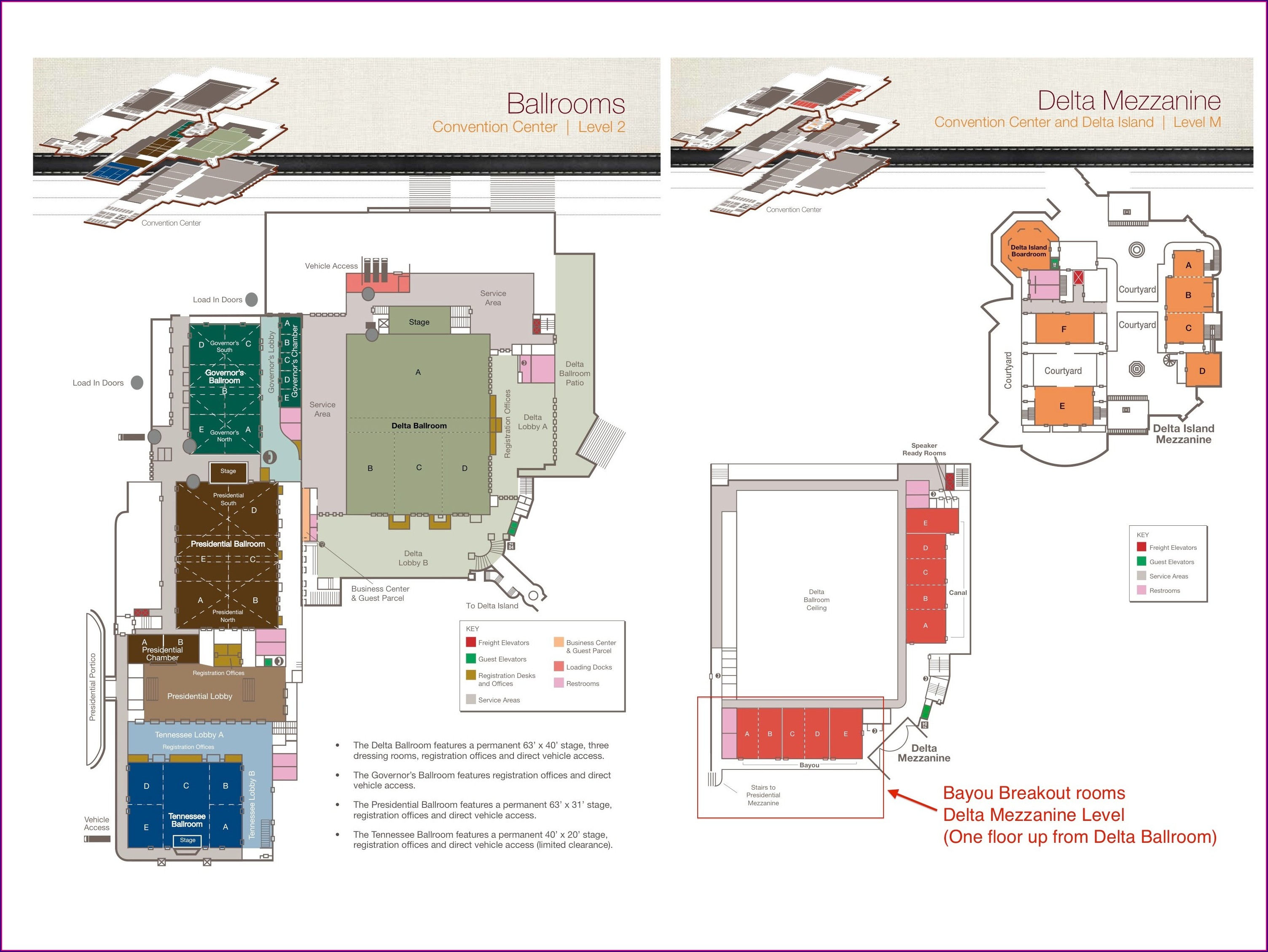 Gaylord Opryland Hotel Map