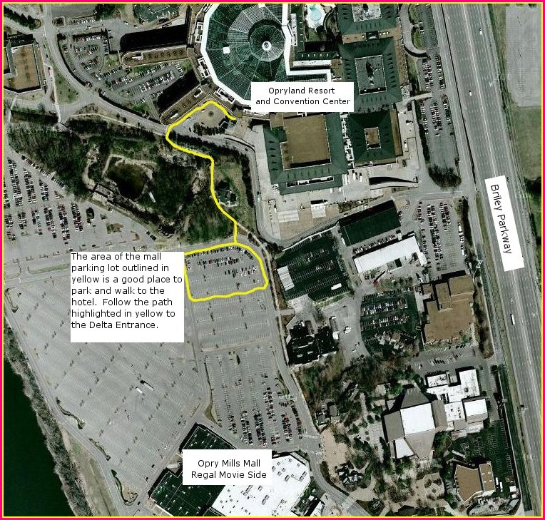 Gaylord Opryland Map Pdf