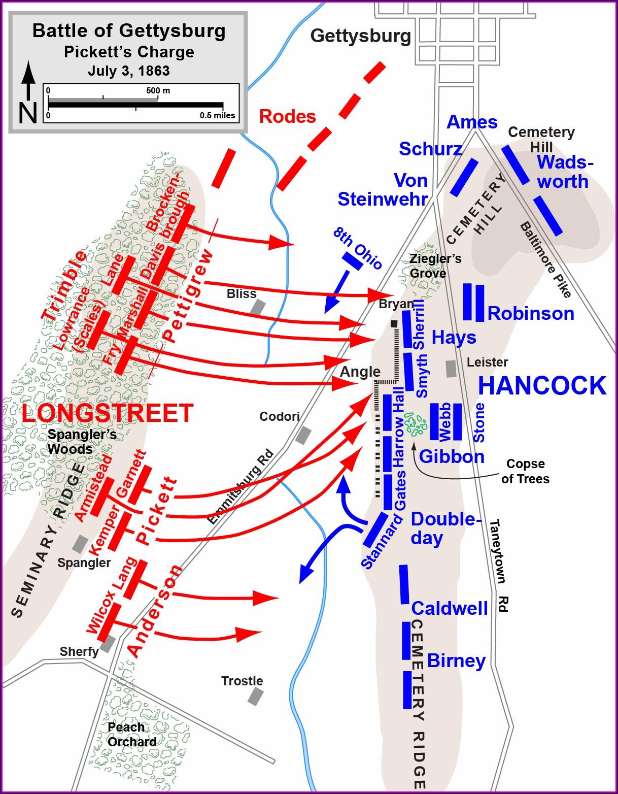 Gettysburg Battlefield Map Pdf