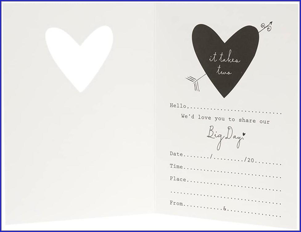 Hallmark Cards Wedding Invitations