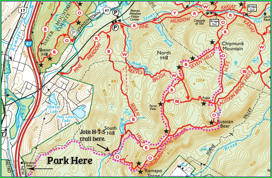 Harriman State Park Map App
