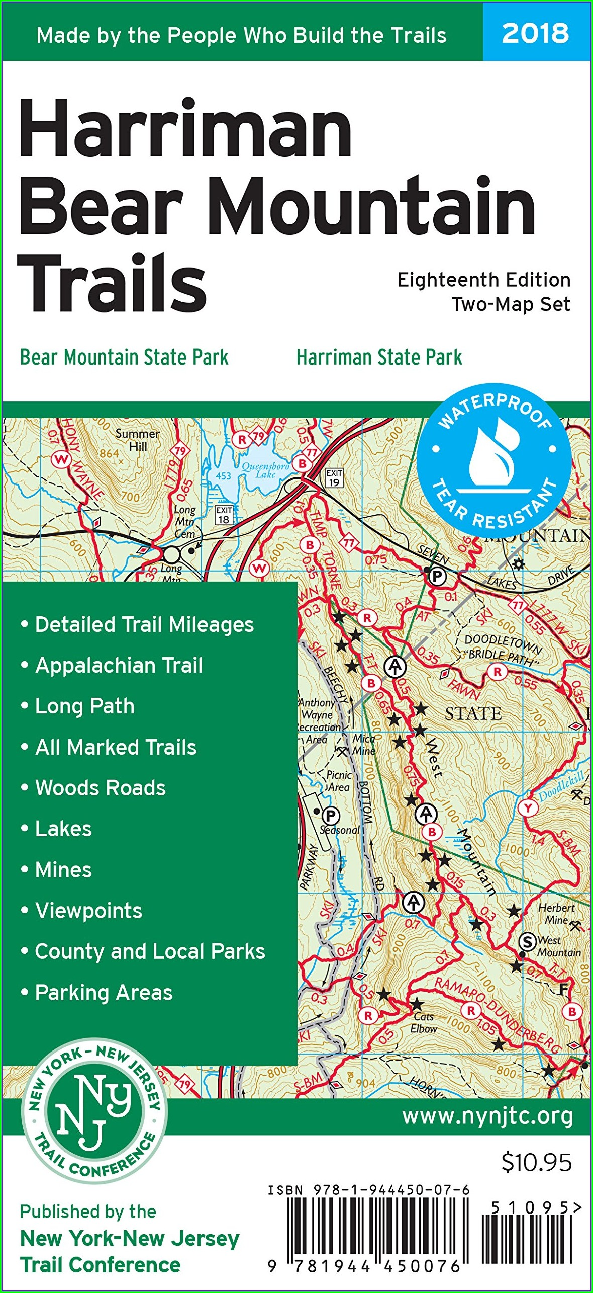 Harriman State Park Map