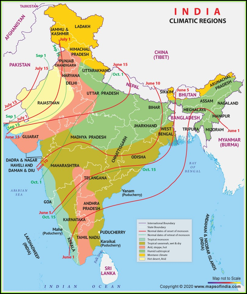 Indian Weather Forecast Map