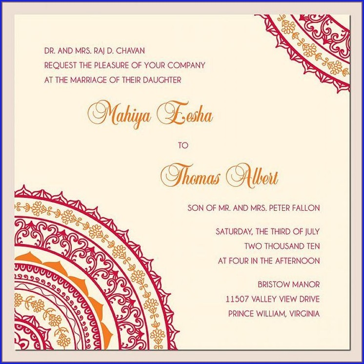Indian Wedding Invitation Quotes For Friends