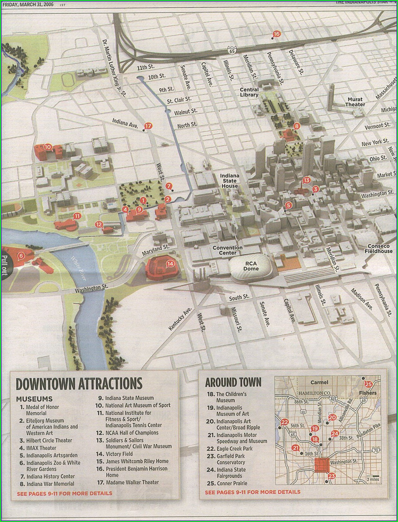 Indiana State Fairgrounds Map