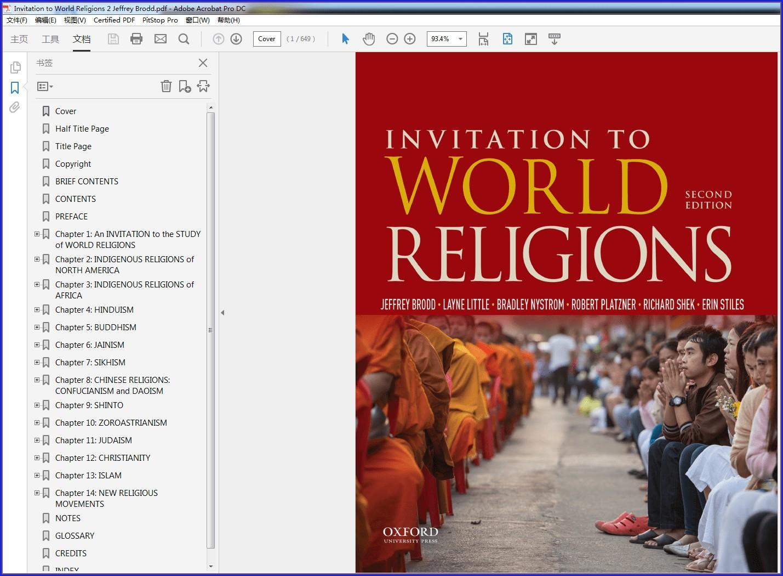 Invitation To World Religions Ebook
